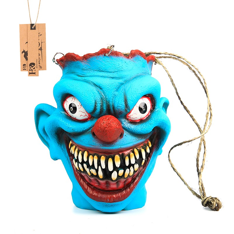 Horror Scary Late Halloween Mask Style Candy bags Pastry and Cookie Baking Plastic Bag OPP Halloween Gift Candy Packaging Bags