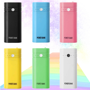 Image 2 - Kebidumei 2X 18650 USB 보조베터리 배터리 충전기 케이스 DIY Box for phone poverbank For iPhone 휴대용 충전 외장 배터리
