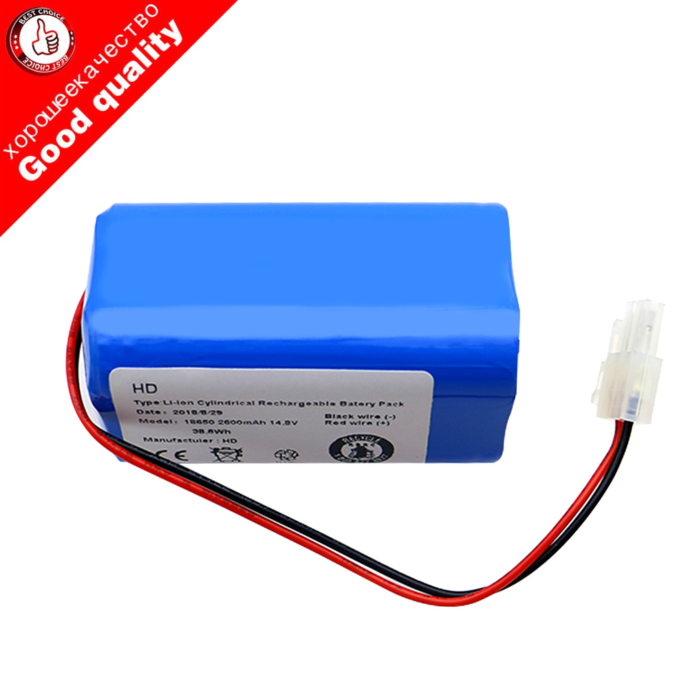 High quality 14.8V 2800mAh robot Vacuum Cleaner Battery Pack replacement for chuwi ilife A6 v7 V7S Pro Robotic Sweeper replacement 11 1v 30c 2800mah li poly battery pack for r c model silver