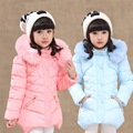 girls coat jacket winter jackets children girl kids clothes duck down coats parka korean for 4~14 year birthday new fashion