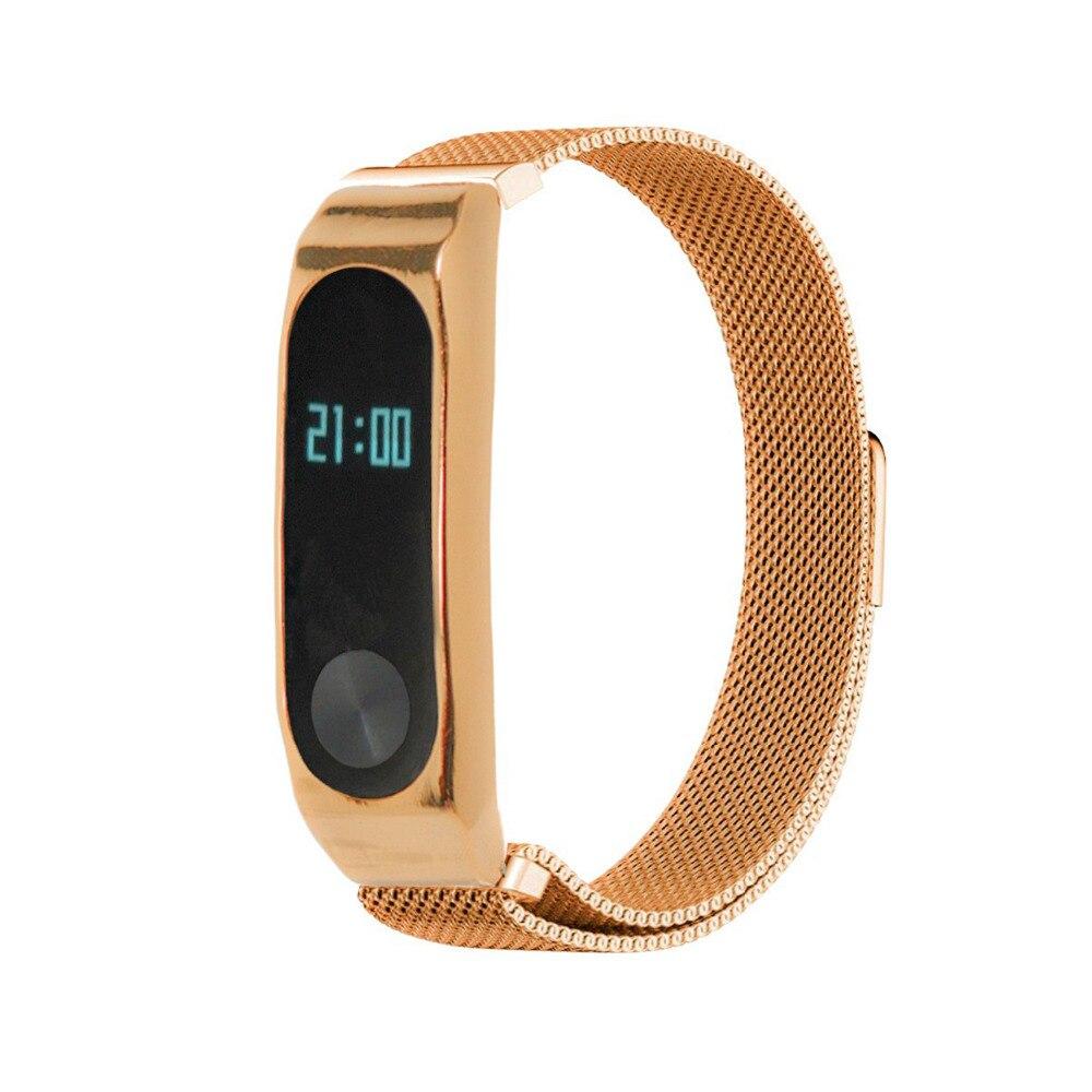 LNOP mi lanese loop Per xiaomi mi banda 2 magnetico Fibbia del cinturino del braccialetto Di collegamento Per xiaomi mi band2 wristband