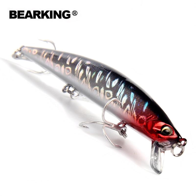 Bearking marke AS-S58 1 STÜCK 14 cm 18g Harter Fischenköder Kurbel Köder Fluss See Angeln Wobbler Karpfenangeln köder