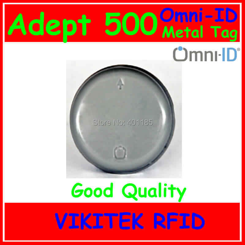 Omni-ID Adept 500 UHF RFID  metal tag 860-960MHZ 915M EPC C1G2 ISO18000-6C Adept500 use for Gas Cylinders Beverage Kegs lone wolf and cub omni vol 6