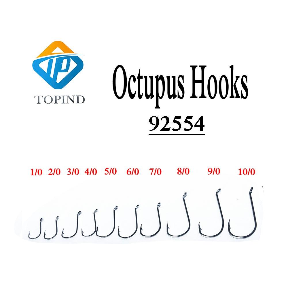 OCTOPUS BEAK HOOKS SEA FISHING SALTWATER PACK OF x 50 SIZE 6 TO SIZE 6//0
