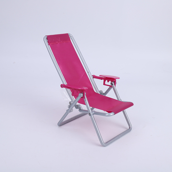 Cataleya BJD Doll 1/6 Swimming Folding Chair Accessories House Pink Rose Beach Chair Selling at a loss is only for a few days 1