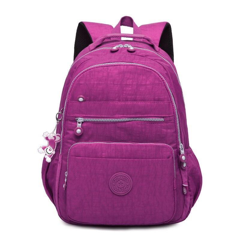 Tegaote School Backpack For Teenage Girl Mochila Feminina Kipled Women Backpacks Nylon Waterproof Casual Laptop Bagpack Female #6