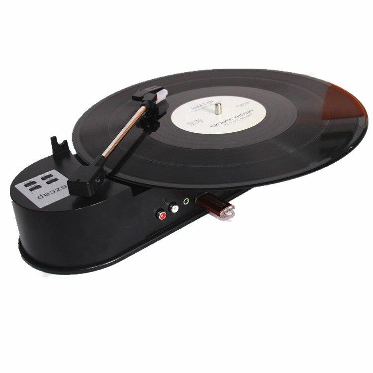Vornehm Ezcap Portable Usb Plattenspieler Vinyl Lp Plattenspieler 33/45 Rpm Vinyl Turntables Mp3 Converter Recorder Player Eingebaute Lautsprecher Rohstoffe Sind Ohne EinschräNkung VerfüGbar Tragbares Audio & Video