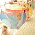Underwear women briefs lovely ladies underwear bragas thongs factory direct wholesale cotton women panties 812
