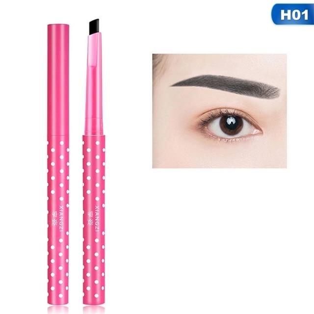 1 PC Black Wave Point Liquid Eyebrow Pencil  Waterproof Long-lasting Eye Pencil Beauty Makeup Cosmetics Drop 4