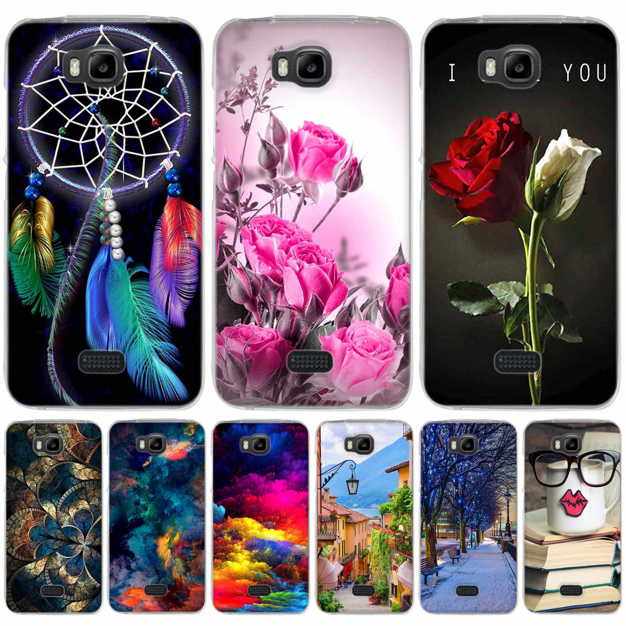 finest selection 937ca 4e435 Case for Huawei Y541 y541 Y5C Case Cover For Huawei y5c Cover Soft Silicon  For Huawei Honor Bee/ Y5C / y541 y560-u02 Phone Cases