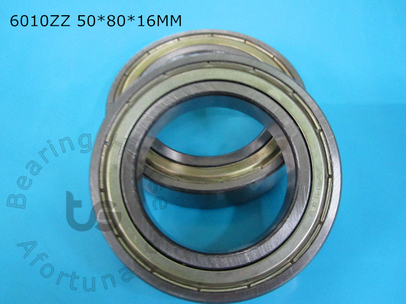 6010ZZ 1Piece bearing 50*80*16(mm) ABEC-5 metal sealing bearings 6010 6010ZZ chrome steel deep groove bearing gcr15 6326 zz or 6326 2rs 130x280x58mm high precision deep groove ball bearings abec 1 p0