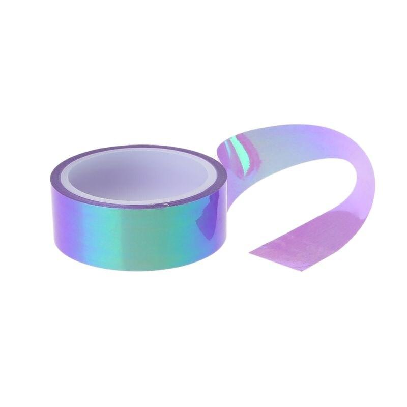 8pcs/set Rhythmic Gymnastics Decoration Holographic Glitter Tape Ring Stick Accessory Stationery Decorative DIY Masking Tape