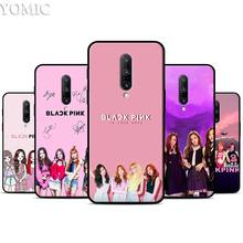 BLACKPINK ROSE Kpop Silicone Case for Oneplus 7 7Pro 5T 6 6T Black Soft Case for Oneplus 7 7 Pro TPU Phone Cover