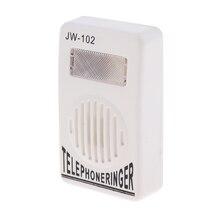 6P2C Home Office Telephone Landline Ring Amplifier Amplified Ringer Loud Amp Portable Design Network Signal amplifier