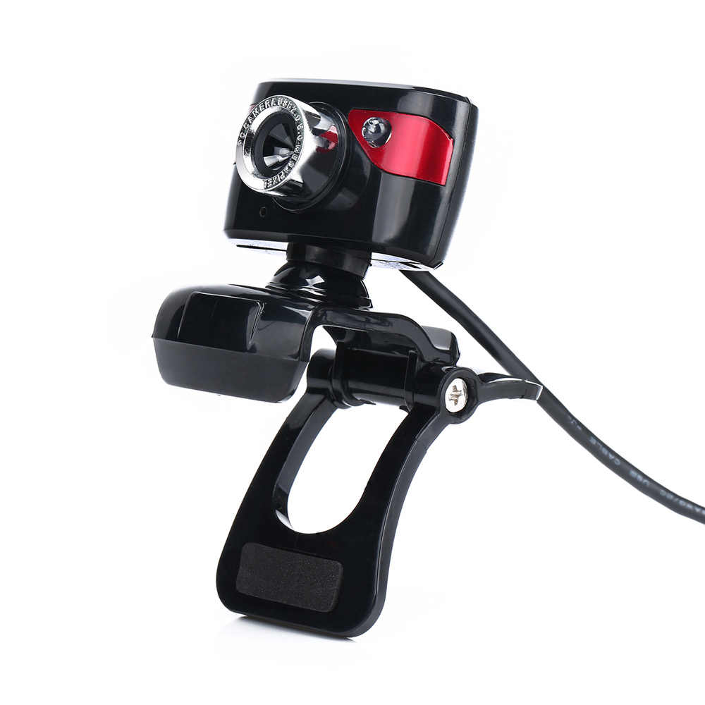 Nuovo USB 2.0 12 Megapixel HD Webcam con Microfono Assorbimento Auto messa a fuoco Clip-on Webcam CMOS 10 Metri per Laptop Computer Desktop