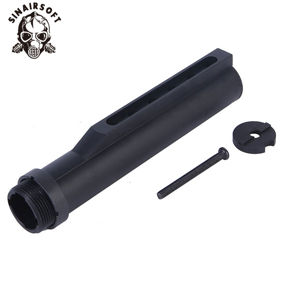 SINAIRSOFT High Quality 6 Position Stock Pipe For Airsoft AEG M4/M16 Paintball Hunting Accessories