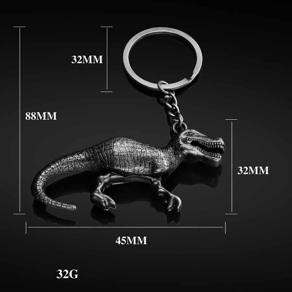 2019 llaveros de moda par de dinosaurios llavero colgante para coche llavero de alta calidad para chica llavero para coche accesorios para coche