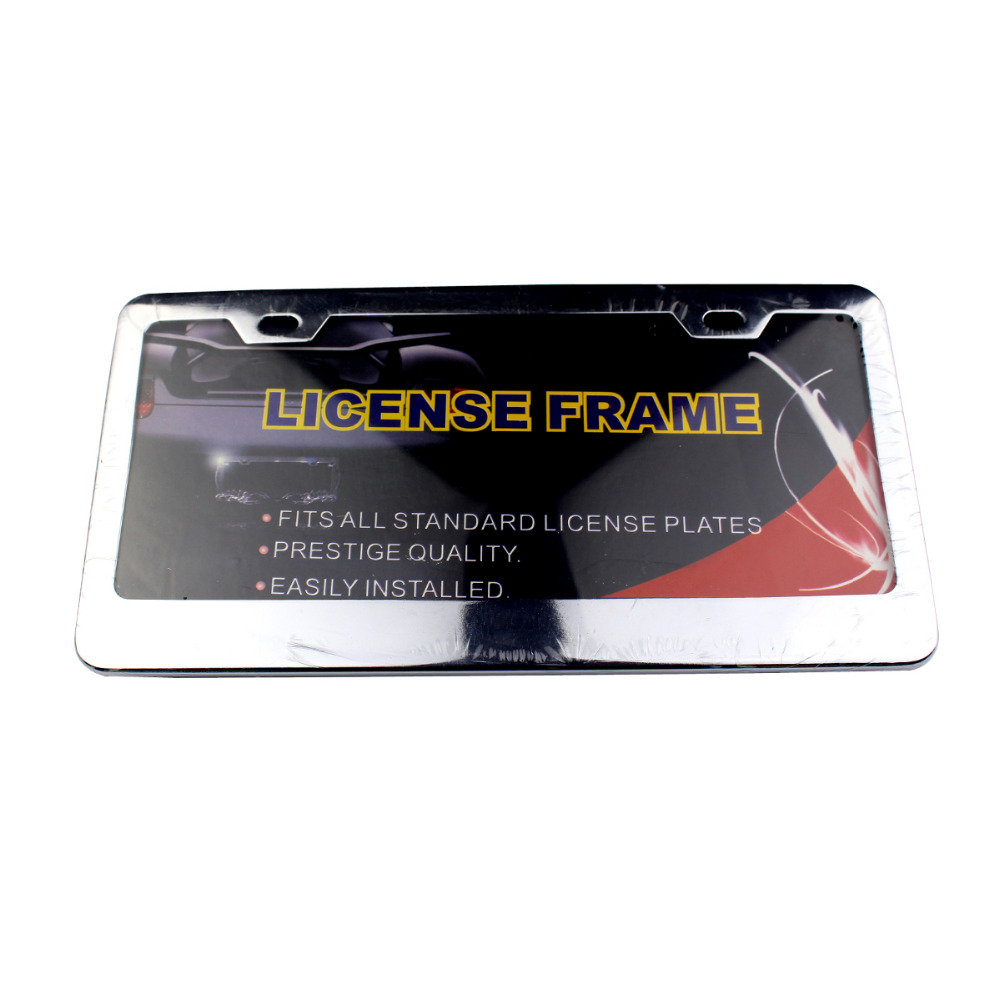 Loyalität JDM Front Hinten Edelstahl USA/Kanada License Plate Frame ...