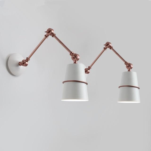Fabulous Lange armen bedlampje muur scone vintage wandlamp industriële  @DN73