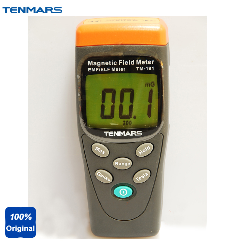 цены TM-191 EMF Meter Electromagnetic Magnetic Field Tester Extremely Low Frequency(ELF) of 30 to 300Hz.