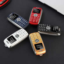 mini Telephone bluetooth Dialer magic voice one key recorder celular cell phone Dual Sim small