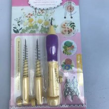 1 Set Punch Needle Russian Embroidery Poking Cross