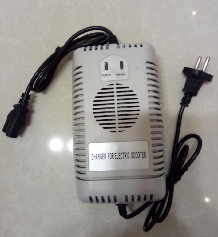 Quality 48 Volt 2 5 Amp Battery Charger Razor Electric Scooters Electric Bikes Scooters E bike