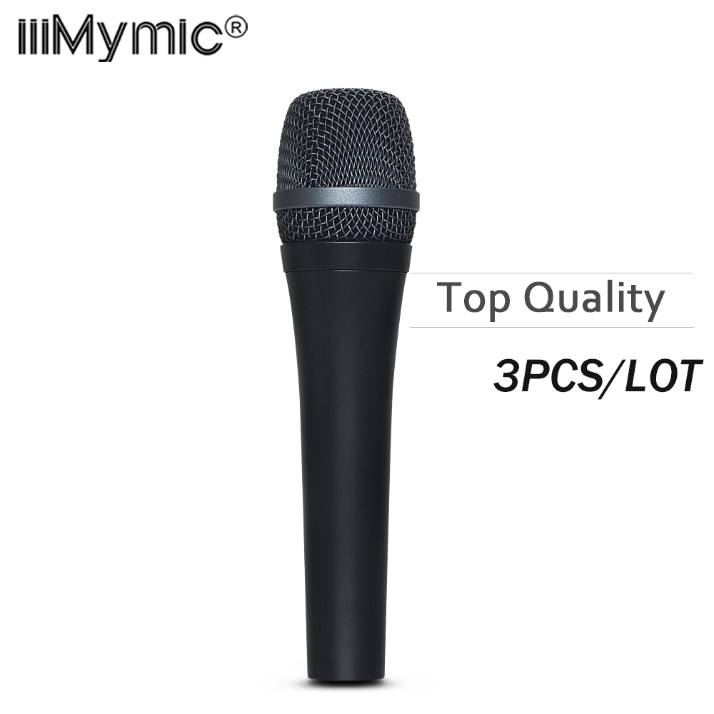 3PCS LOT Top Quality and Heavy Body 945 Professional Dynamic Super Cardioid Vocal Wired Microphone microfone
