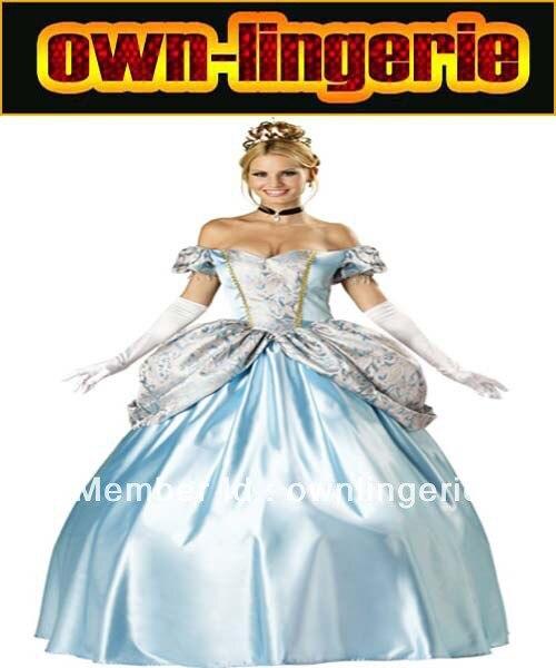 Dynastie Princesse costume de Neige Blanc Princesse et reine cosplay femme fantaisie robe costume avec pettiskirt et couronne