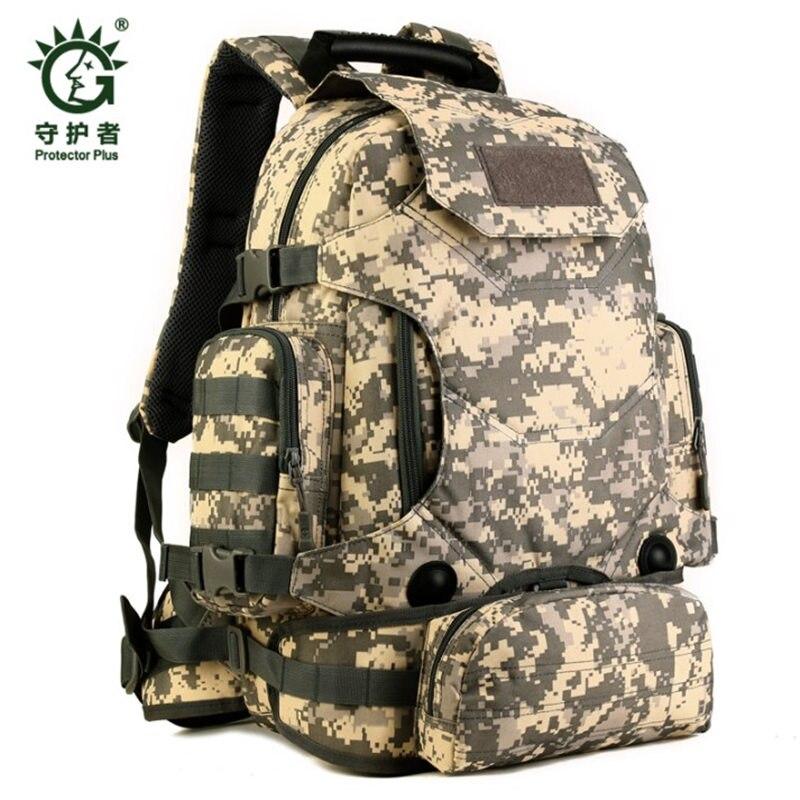 HOT nouveau militaire sac à dos mâle 40 l étanche sac à dos touristique camouflage sac résistant à l'usure sac d'ordinateur portable décontracté fille