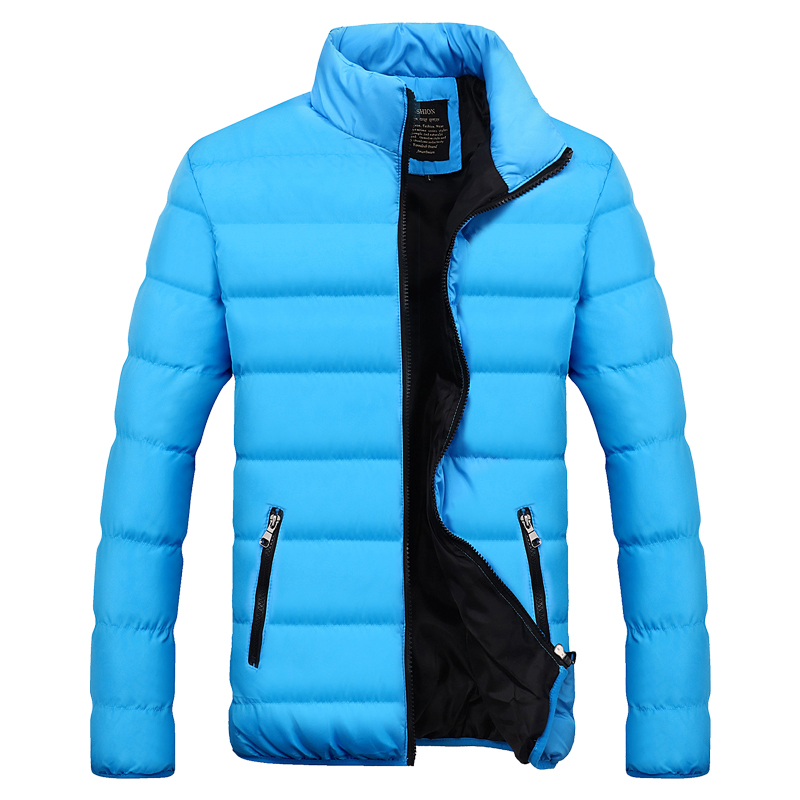 Men Parka Casual Mens Jackets Coats Winter Thick 5gBqS5W