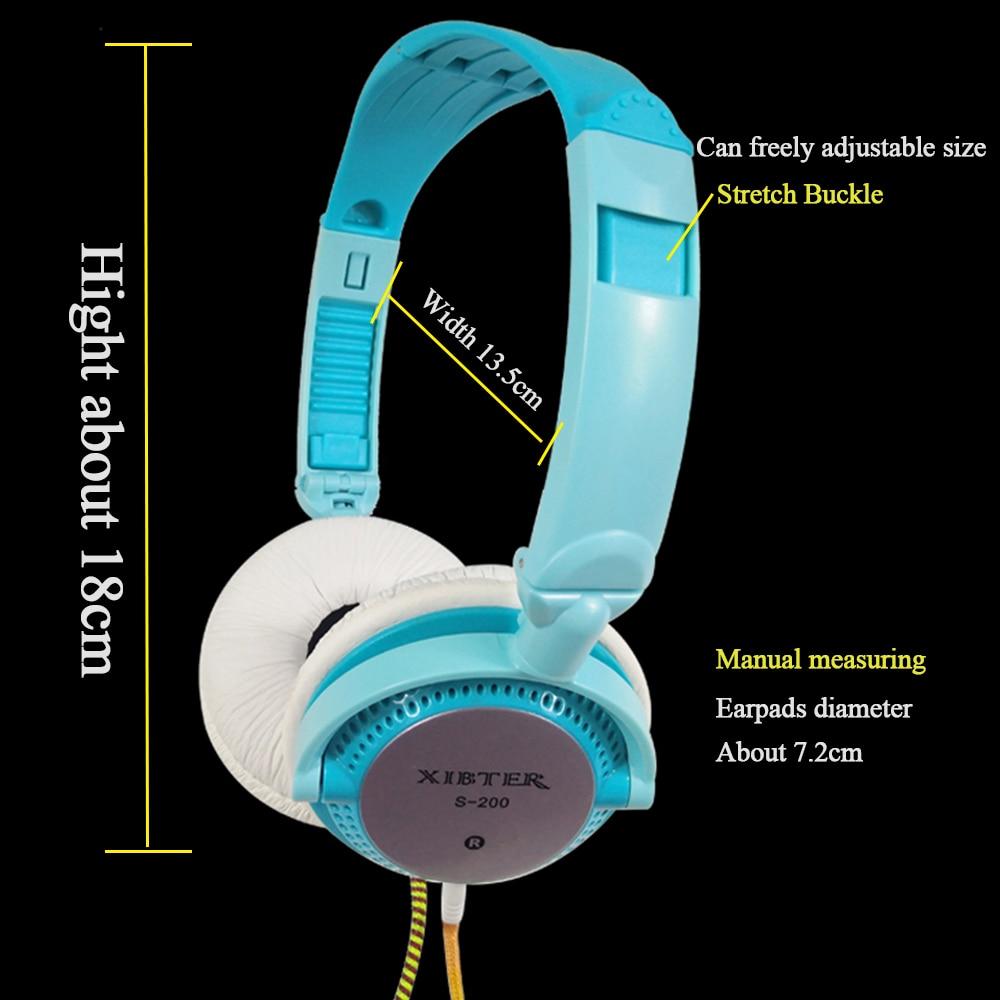 Xibter Mini Auriculares Coloridos Con Micrófono En Línea 3.5mm Jack - Audio y video portátil - foto 2