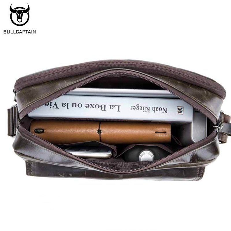 bullcaptain genuínos homens de couro Tipos : Genuine Leather Men Bag