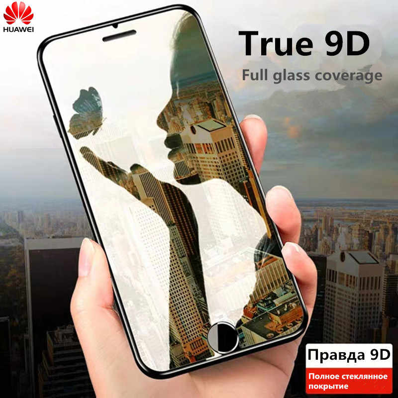 9D غطاء كامل واقي من الزجاج المقسى لـ Nova 4 2i 2 Lite 2S 3 3i 3e Y6 Y7 Y9 2019 Y9 2018 Y7 Prime2018 واقي للشاشة