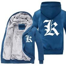 Death Note Thick jacket Death Ryuuku winter warm Flannel Hoodie Coat Unisex  Cashmere Sweatshirts Hooded Windbreaker 51bfb61f4