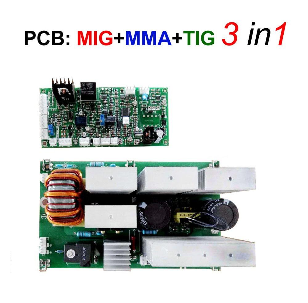 MIG TIG MMA Welding Machine Board  3 In 1 Functions For IGBT Inverter Welder SMART MIG-200 250 270