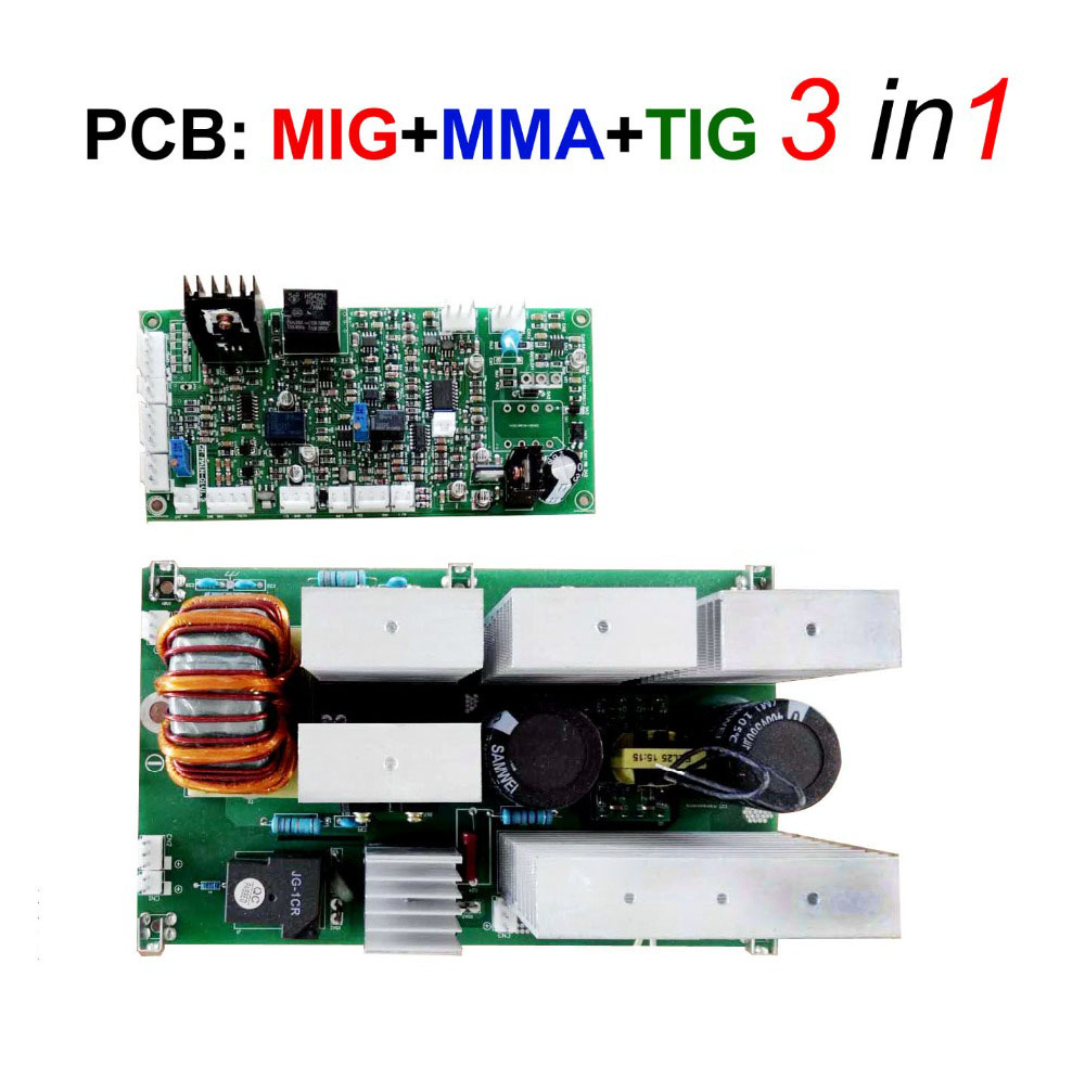 MIG <font><b>TIG</b></font> MMA Welding machine board 3 in 1 functions for IGBT inverter welder SMART MIG-200 <font><b>250</b></font> 270 image