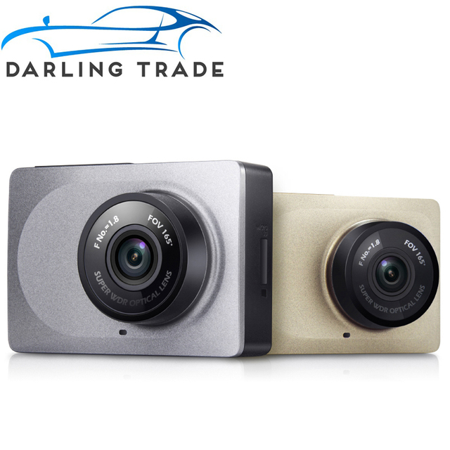 "[International Version] Xiaomi YI Car DVR 1080P 60fps Dash Camera 165 Degree 2.7"" ADAS H.264 WiFi Car Dashcam Video Detector"