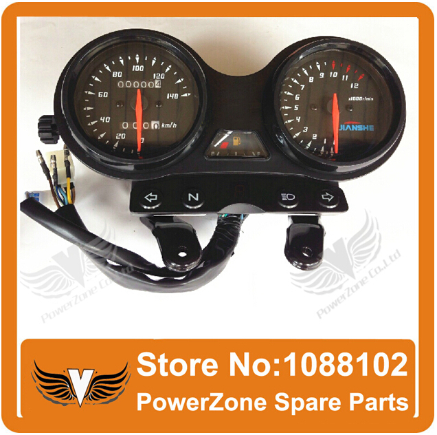 ФОТО JIANSHE 125cc Motorcycle Speedometer Odometer JS125-6B 6F 6A V6 Accessories Free Shipping
