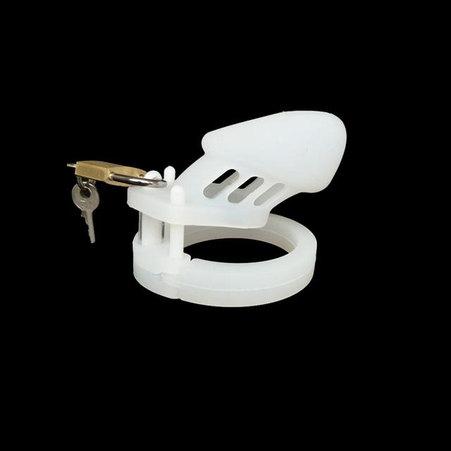 Cinturón cinturón de castidad cb6000s jaula samll con 5 pene de silicona anillo para el pene jaula dispositivo chasitity cerradura del pene del sexo juega productos del sexo productos