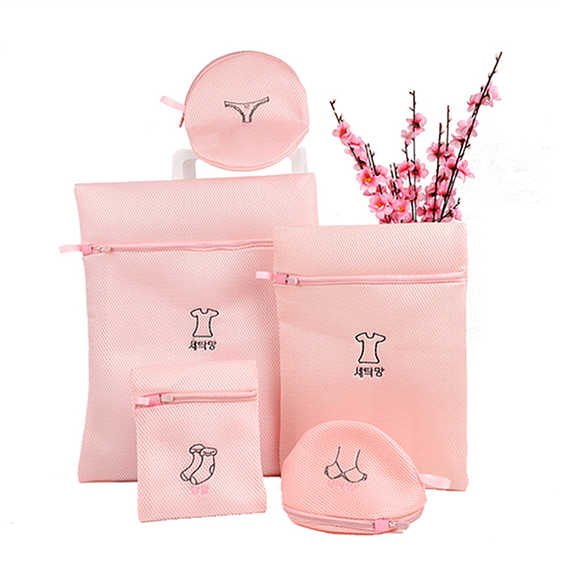 Women's Bra Laundry Bag Washing Machine Bags Underwear Socks Bra Washing Bag Lingerie Mesh Net Wash Bags Pouch Basket For Women