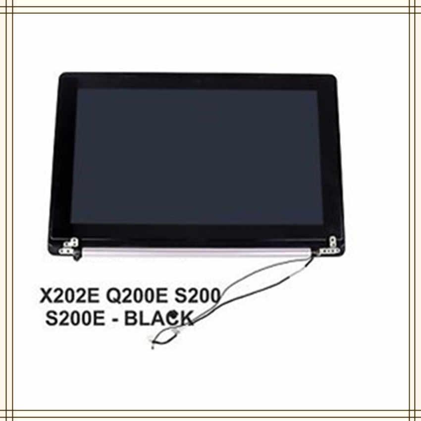 Ноутбук для ASUS X202 X202E S200 S200E Q200E верхняя половину комплекта ЖК-дисплей и сенсорный экран новый оригинальный