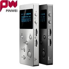 PINWEI Lossless Hifi Audio MP3 Music Player X3 With HD OLED Screen Support APE/FLAC/ALAC/WAV/WMA/OGG/MP3 256GB Dual TF Card