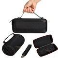 Saco de viagem portátil eva rígido carrying case para carga jbl 3 sem fio bluetooth speaker (com cinto)