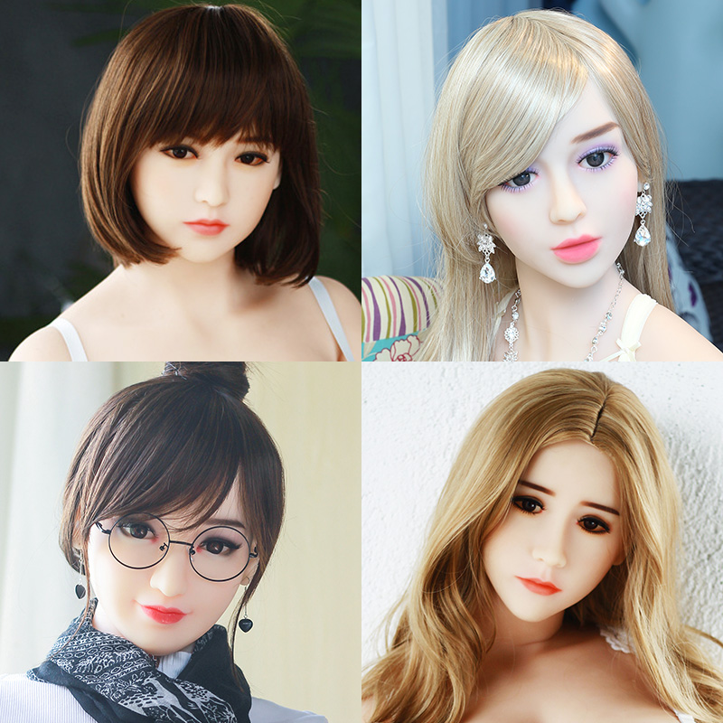 Hanidoll Sex Dolls Head for doll Height 140cm~170cm Real TPE Love Doll Heads Sex Toys For Men Hanidoll Sex Dolls Head for doll Height 140cm~170cm Real TPE Love Doll Heads Sex Toys For Men