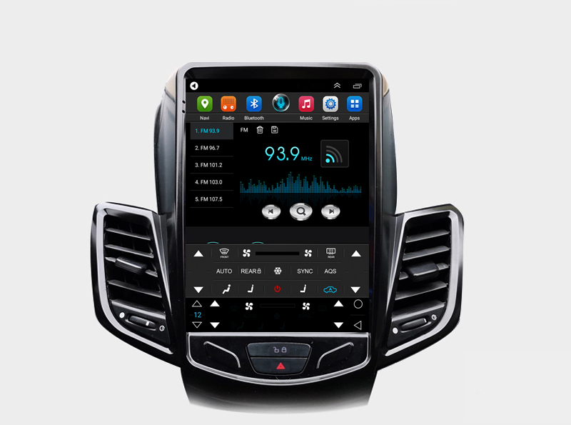 New Arrival Android 9 7 Inch Tesla Vertical Screen Car Multimedia Gps Radio Stereo Audio 4g For Ford Fiesta Fiesta St 2009 2015 Car Multimedia Player Aliexpress