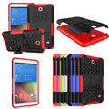 Hybrid Rugged Combo Heavy Duty Hard Back Cover Case For Samsung Galaxy Tab 4 7.0 SM T230 T231 T235 Case With Kickstand
