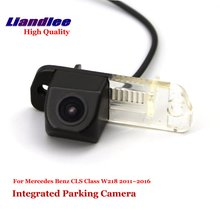 Liandlee Car Rear View Camera For Mercedes Benz CLS Class W218 2011~2016 Rearview Reverse Camera Backup Parking / SONY HD CCD for mercedes benz glk class x204 2013 2015 trunk handle car reverse camera rear view backup parking camera hd ccd night vision