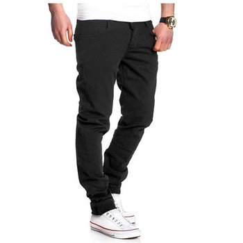 Fashion 2020 Spring Summer gentleman City Streetwear Hip Hop Thin Casual Men pants Cotton  Slim Pant Straight Trousers 4Color