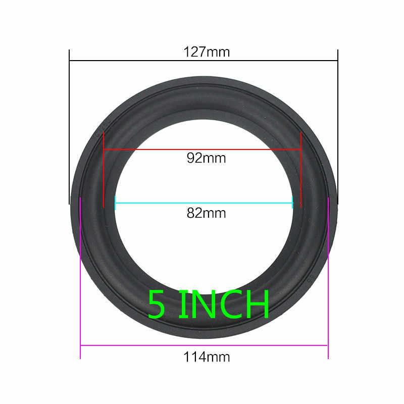 GHXAMP スピーカーゴムサラウンド修理 3 インチ 4 インチ 5 インチ 6.5 8 インチスピーカーサブウーファーアクセサリー一般的な折りたたみエッジ diy